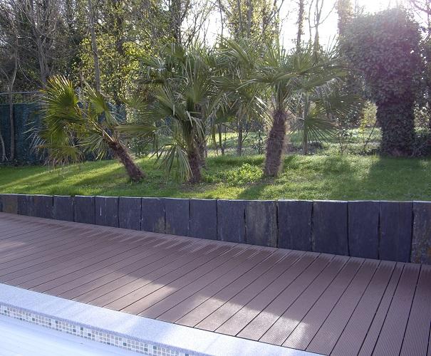 Faire un Mur / Muret de Soutènement Jardin - Paysagiste ORSAT LYON